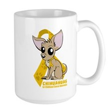 Chihuahuas for Childhood Cancer Mug