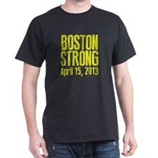 Boston Strong - Yellow T-Shirt
