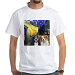 Cafe Dogs White T-Shirt