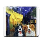 Cafe Dogs Mousepad