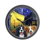 Cafe Dogs Wall Clock