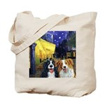 Cafe Dogs Tote Bag