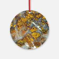 Beautiful Scan of Sonoma County Jasper Ornament (R