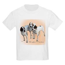 English Pointers Kids T-Shirt