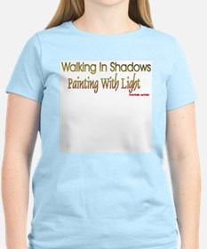Painting with Light Women's Pink T-Shirt