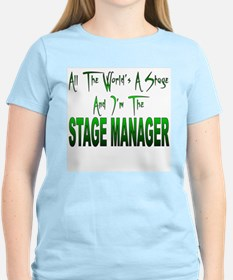 Stage Manager Women's Pink T-Shirt