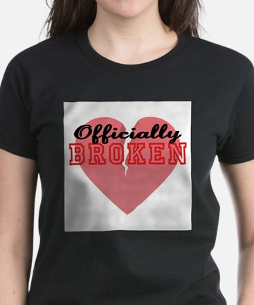 Officially Broken Women's Dark T-Shirt
