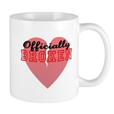 Officially Broken Small Mugs