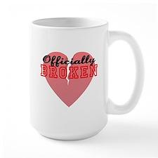 Officially Broken Ceramic Mugs