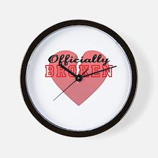 Officially Broken Wall Clock