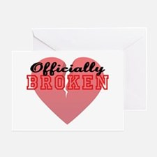 Officially Broken Greeting Card