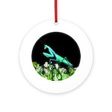 Praying Mantis II Ornament (Round)