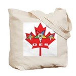 OES Canadian Maple Leaf Tote Bag