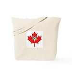 OES Canadian Maple Leaf Tote Bag