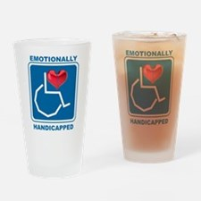 Emotionally Handicapped Drinking Glass