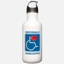 Emotionally Handicapped Water Bottle