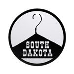 South Daktota Ornament (Round)