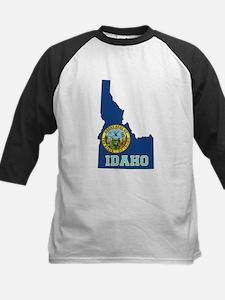 Idaho Flag Kids Baseball Jersey