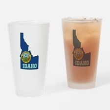Idaho Flag Drinking Glass