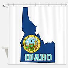 Idaho Flag Shower Curtain