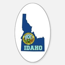 Idaho Flag Decal