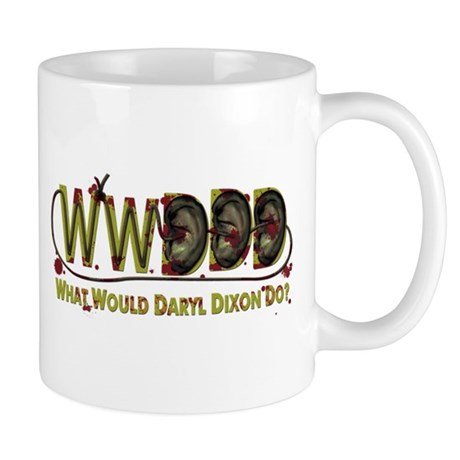 Daryl Dixon Zombie Ear Necklace Mug