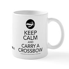 Keep Calm Carry a Crossbow Mug