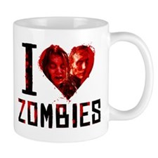 I Heart Zombies Mug