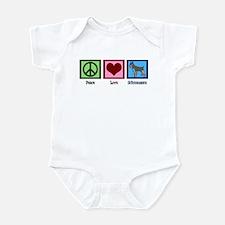 Peace Love Schnauzers Infant Bodysuit