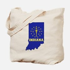 Indiana Flag Tote Bag