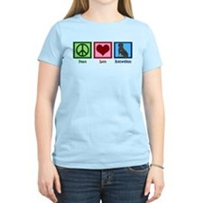 Peace Love Rottweilers T-Shirt