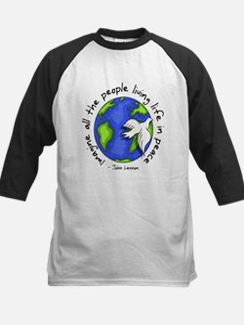 imagine_world_life_peace_dark.png Baseball Jersey