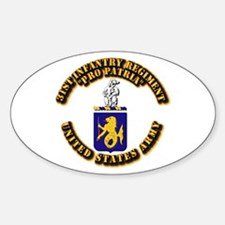 COA - 31st Infantry Regiment Decal