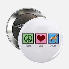 "Peace Love Boxers 2.25"" Button"