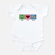 Peace Love Boxers Infant Bodysuit