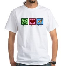 Peace Love Boxers Shirt