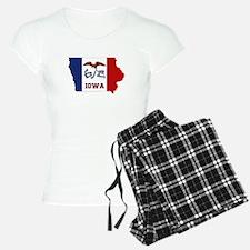 Iowa Flag Pajamas