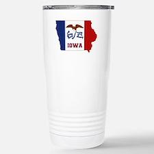 Iowa Flag Travel Mug