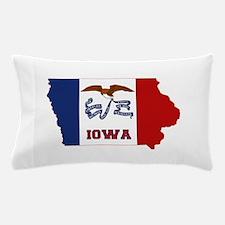 Iowa Flag Pillow Case