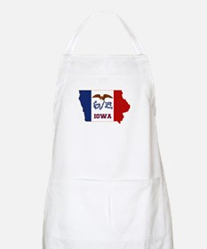 Iowa Flag Apron