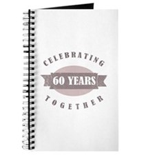 Vintage 60th Anniversary Journal