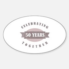 Vintage 50th Anniversary Decal
