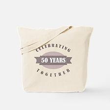 Vintage 50th Anniversary Tote Bag