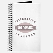 Vintage 50th Anniversary Journal