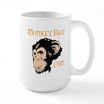 Official Monkey Day Large Mug