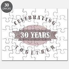 Vintage 30th Anniversary Puzzle