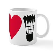 I love badminton Mug