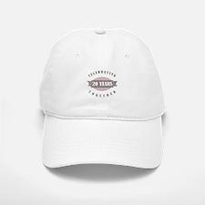Vintage 20th Anniversary Baseball Baseball Cap