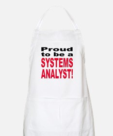 Proud Systems Analyst BBQ Apron