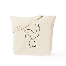 Dressurpferd Tote Bag